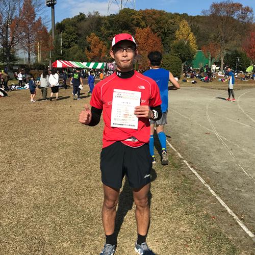 上州藤岡蚕マラソンゴール