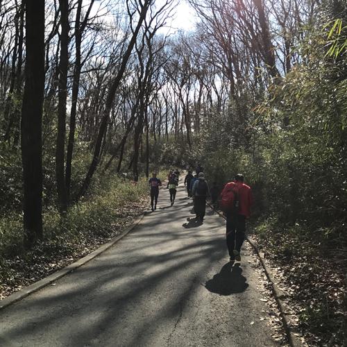 2018森林公園完走マラソンのコース