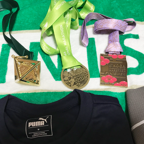 2018 メダルは三つ