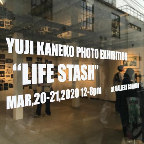 """Yuji Kaneko様の写真展""""LIFE STASH"""""""