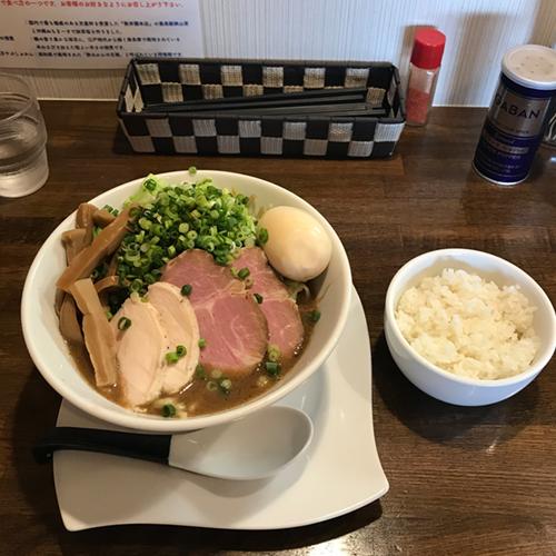 麺.SUZUKi  特製濃厚魚介豚骨