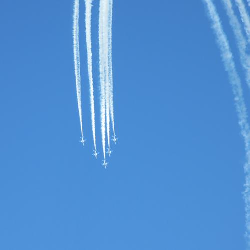 入間基地航空祭 ブルーインパルス