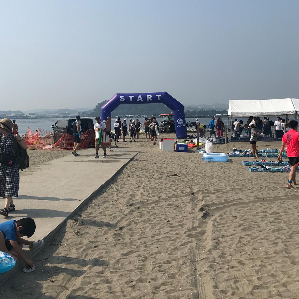 2019 横浜・海の公園アクアスロン大会