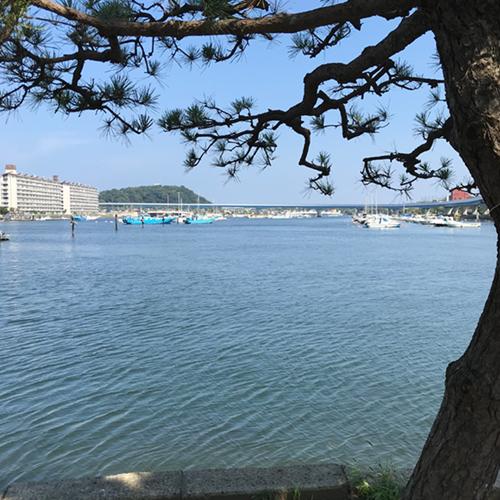海のそばの街は楽しい。