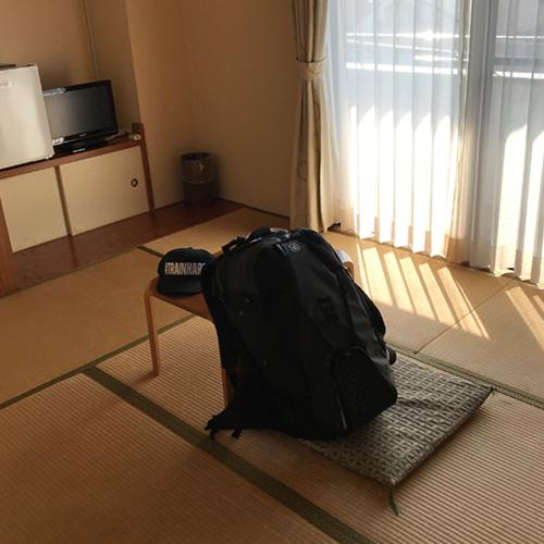ホテル和室でした