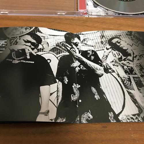 舐達麻のセカンドアルバム「GODBREATH BUDDHACESS」