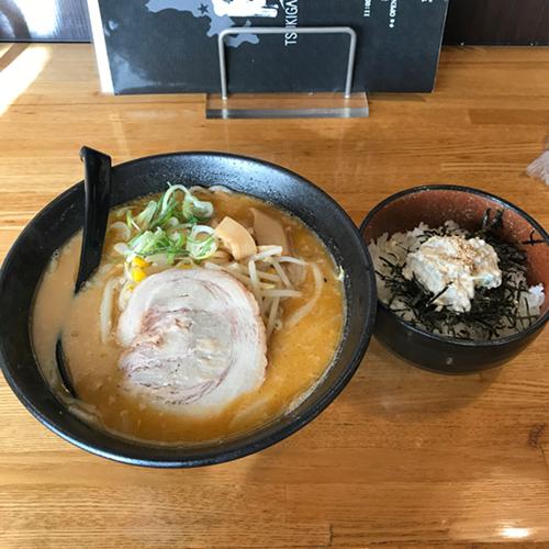 Bセット チャーマヨ丼
