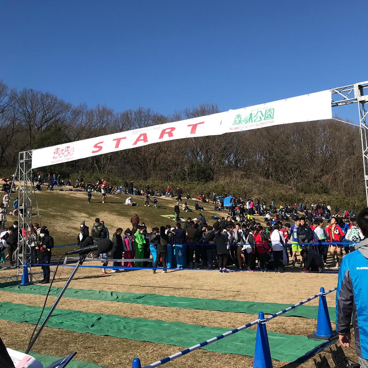 2020-森林公園完走マラソン