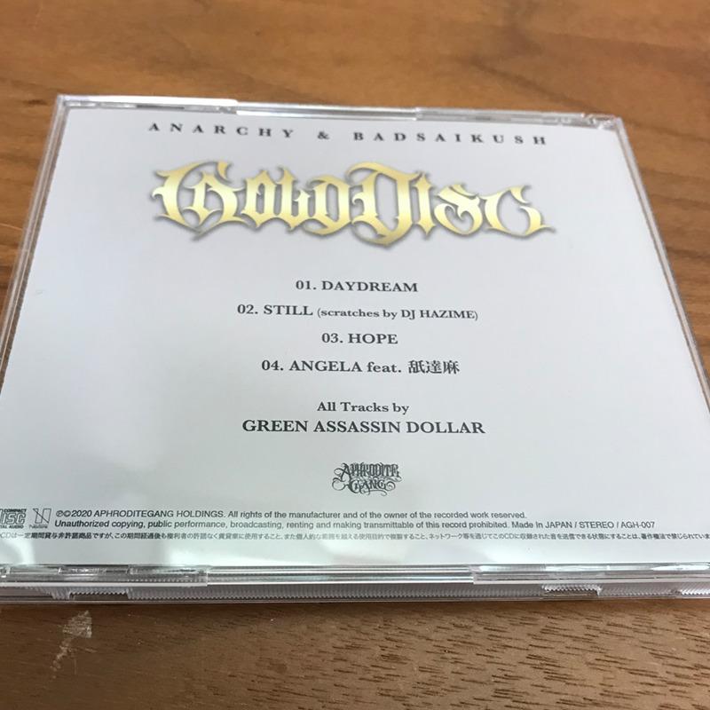 "ANARCHY & BADSAIKUSH ""GOLD DISC""  裏"